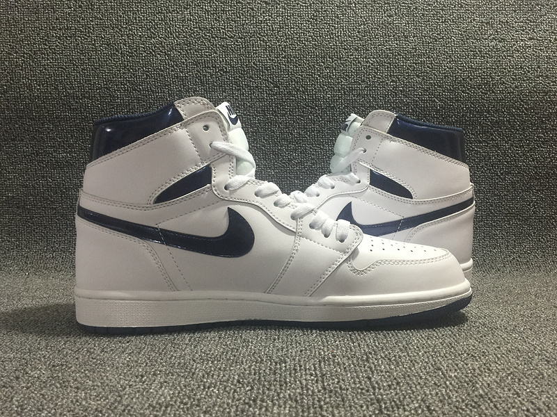 premium selection c70be 0e0fa air jordan 1 retro og,homme air jordan 1 high blanche et bleu - s1