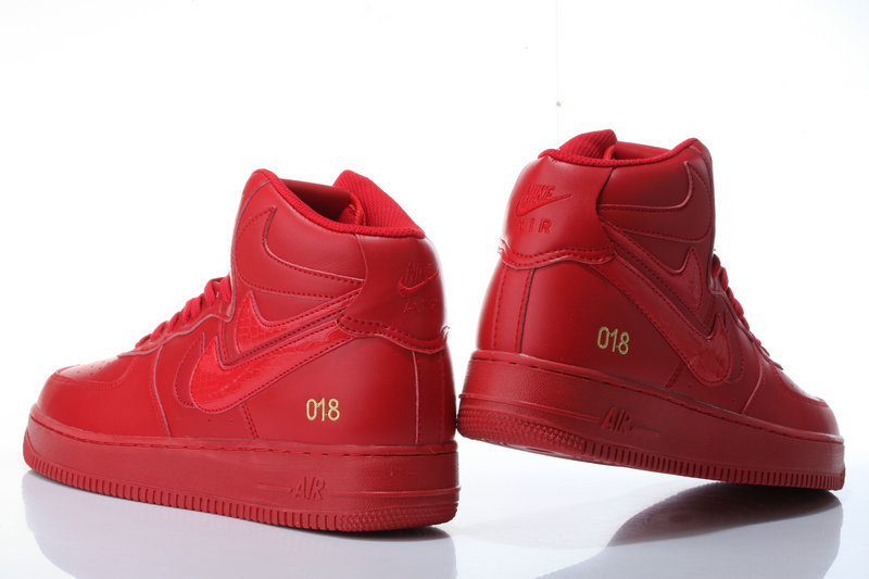 air force one rouge homme