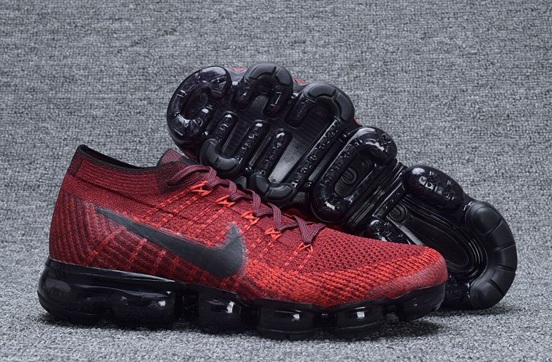 hot products 2018 sneakers affordable price air max vapor,homme air vapormax flyknit rouge et noir