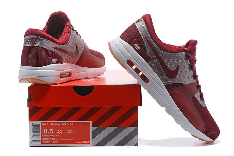 best sneakers f1cec 4f02a air max zero sneaker,air max zero homme rouge et argenté - s4