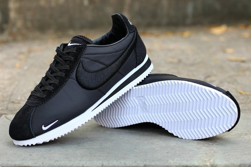 online store ce132 42e0c basket nike classic cortez nylon,nike cortez ultra noir et blanche - s2