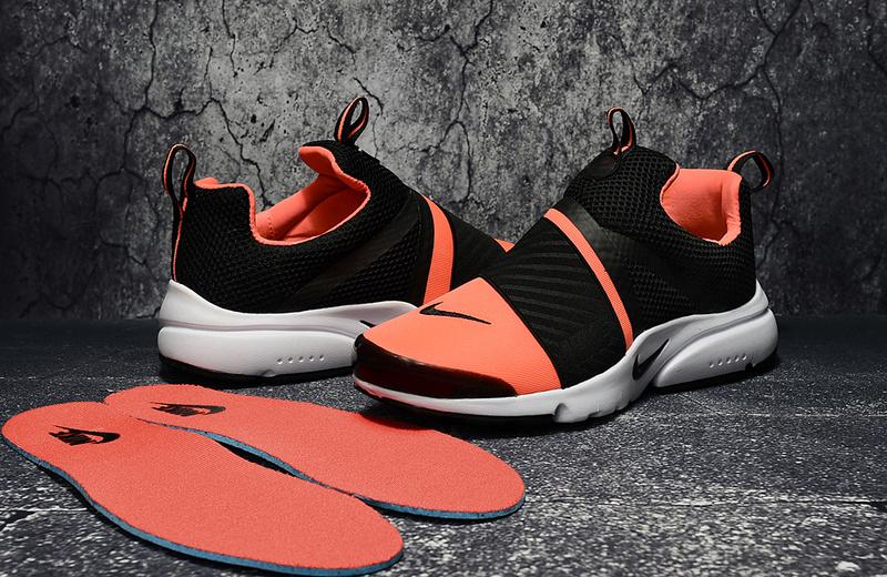basket nike femme haute,air presto ultra noir et orange femme