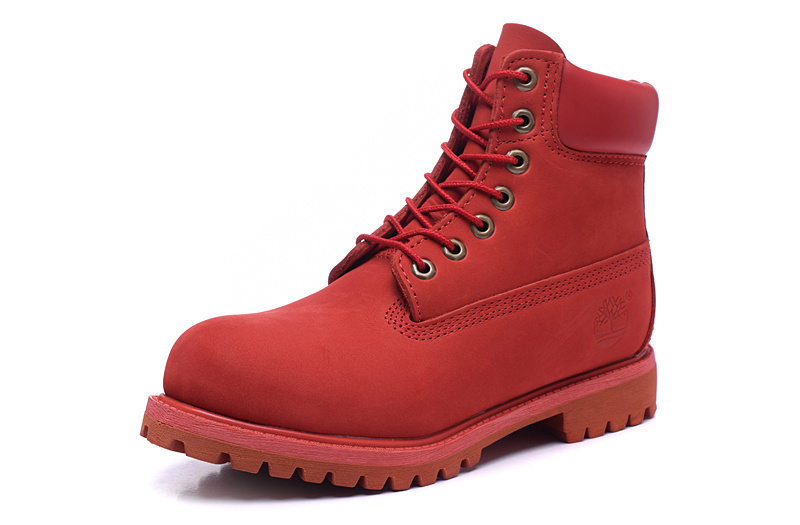 Boots Femme Timberland Timberland Boots Rouge Femme