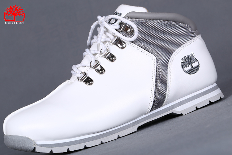 timberland blanc homme