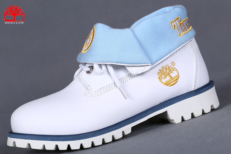 timberland femme blanche pas cher