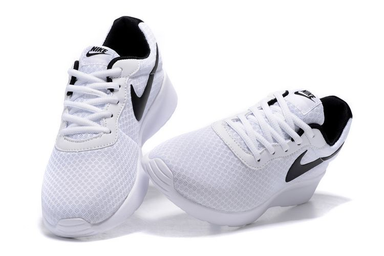 matériaux de haute qualité personnalisé brillance des couleurs chaussure Tanjun run pas cher,nike tanjun homme blanche et noir