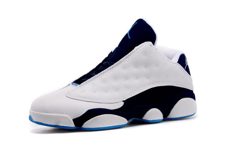 promo code 58b9f bd95e chaussure jordan 13 soldes,air jordan 13 retro blanche et bleu - s2