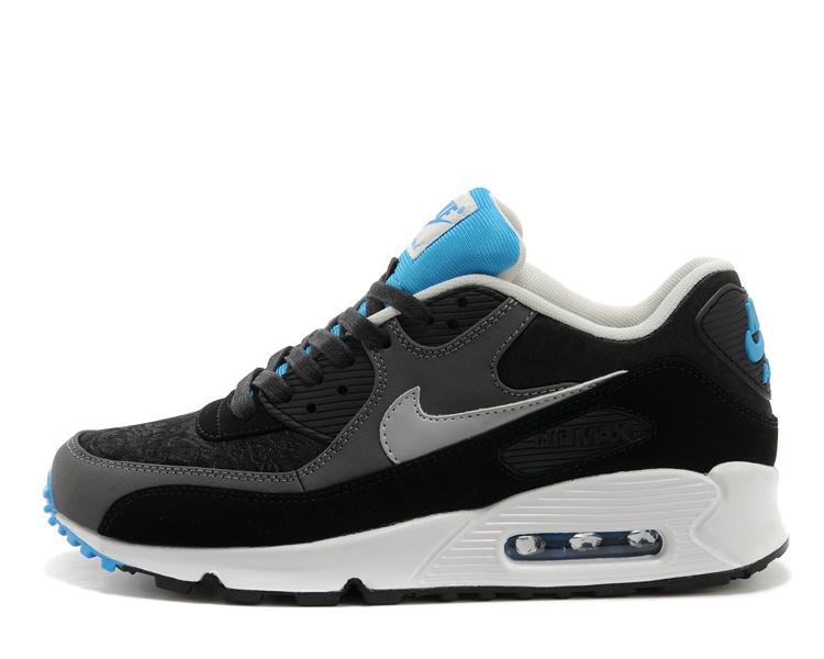 nike Max 90 Nike Homme Pour Noir Chaussure Homme Et Bleu Air 0nOPwk