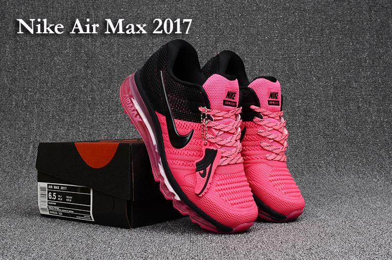 Pour Noir Femme Air Max Max Nike Et 2017 Rose air Chaussure 354jLRA