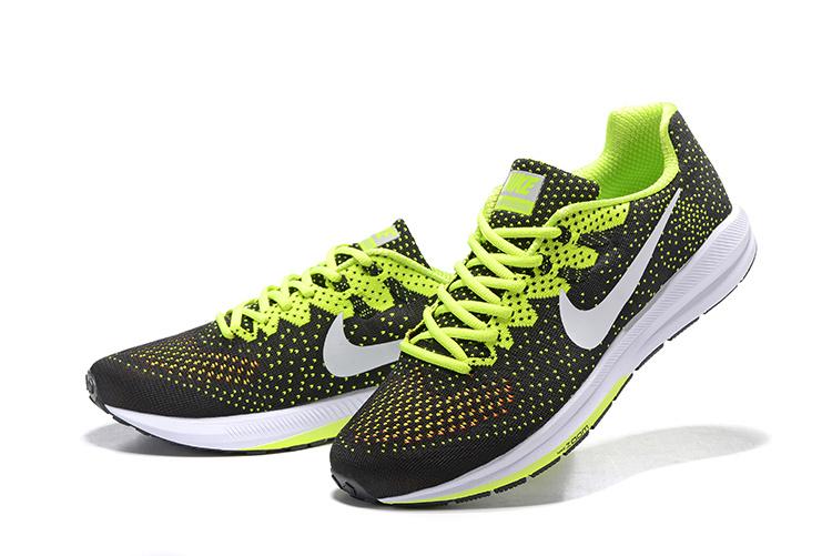 separation shoes 59a2e 57e78 chaussure pas cher nike,air zoom structure noir et verte homme - s3