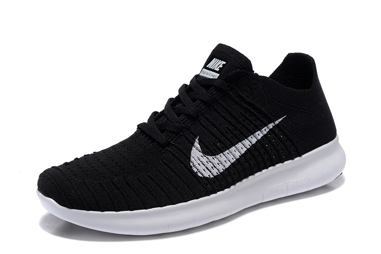 sneakers for cheap 066da 02d73 chaussures nike free run pas cher,femme nike free rn flyknit noir et  blanche -