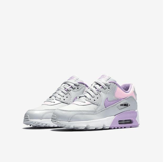air max 90 hyperfuse gris et violet
