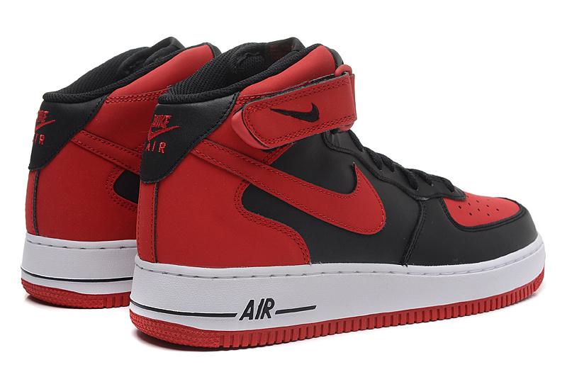 chaussures de séparation 1221b fdb1b nike air force 1 montant,nike air force 1 noir et rouge homme