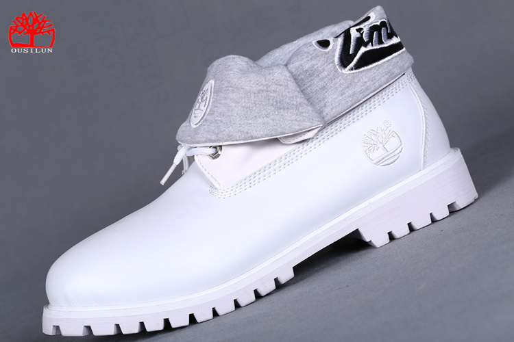 timberland blanche pas cher